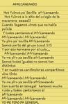 """Letra del Clan Sirious """"Africaneando!"""""""
