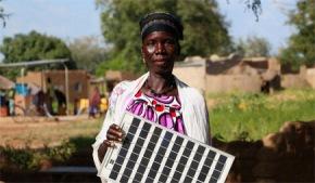 Balkissa Lompo: Burkina faso, abuelasolar