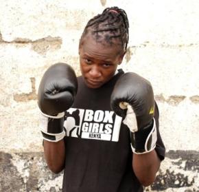 Sarah Achieng: keniata, boxeadora y defensora por los derechos de lasmujeres